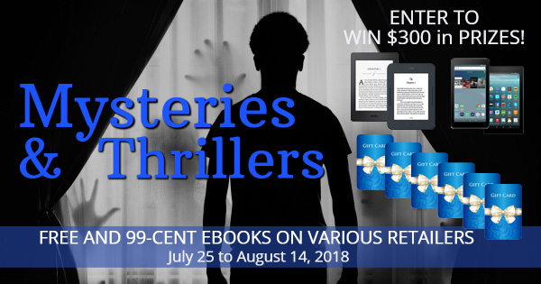 Mysteries and Thrillers share 4 with prizes